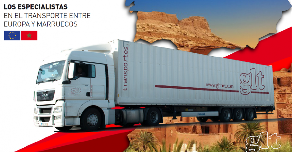 Efficient road haulage means GLT in Morocco,